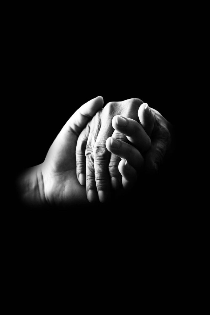 hands, compassion, help